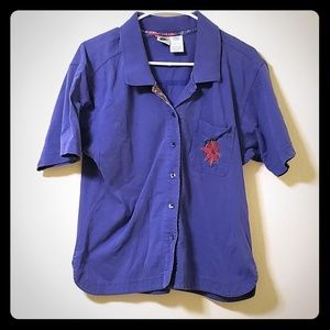 Nike Womens button up polo